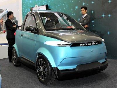 3D-gedrucktes Elektroauto EV