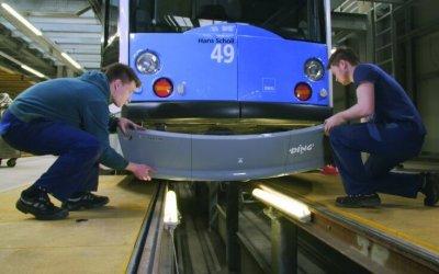 3D-Druck für Straßenbahn