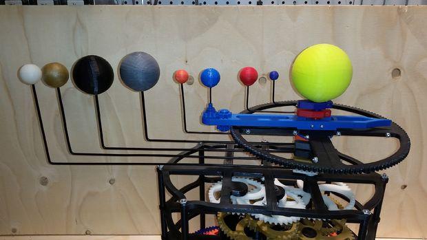 3D-gedruckte Planetenmaschine