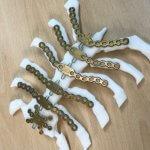 3D-gedrucktes Brustbeinmodell mit Metallplatten
