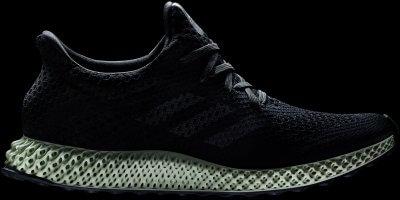 Adidas Schuh mit 3D-gedruckter Mittelsohle