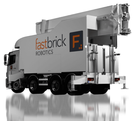 Fastbrick Robotics Truck