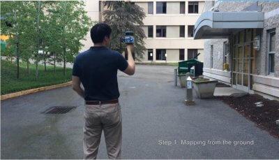 3D-Scanner Contour im Einsatz