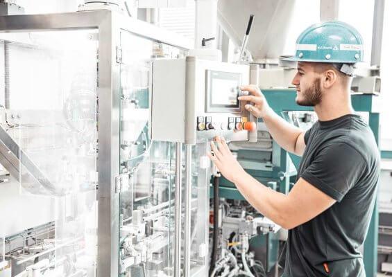 Gerät zur Verarbeitung von AMPERIT Metallpulver