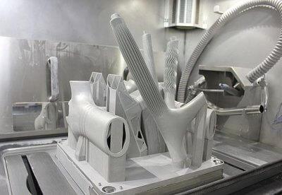 3D-gedruckte Bauteile
