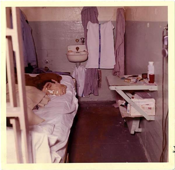 Alcatraz Zelle von Frank Morris
