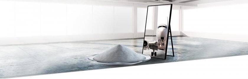 AMPERINT Metallpulver für Luft- und Raumfahrt