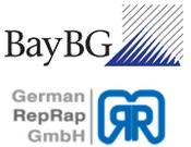Logo BayBG und German RepRap