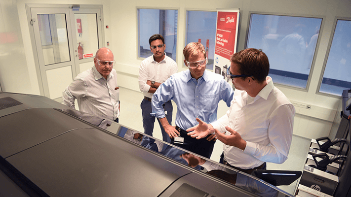 Danfoss CEO besucht neues ADM Center.