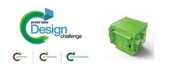 """Proto Labs startet 3D-Druck-Wettbewerb """"Proto Labs Design Challenge 2017"""""""
