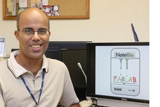 Der Leiter des 3D Biodruck Teams