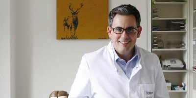 Max Heiland, Leiter der Klinik für Mund-, Kiefer- und Gesichtschirurgie an der Charité Berlin