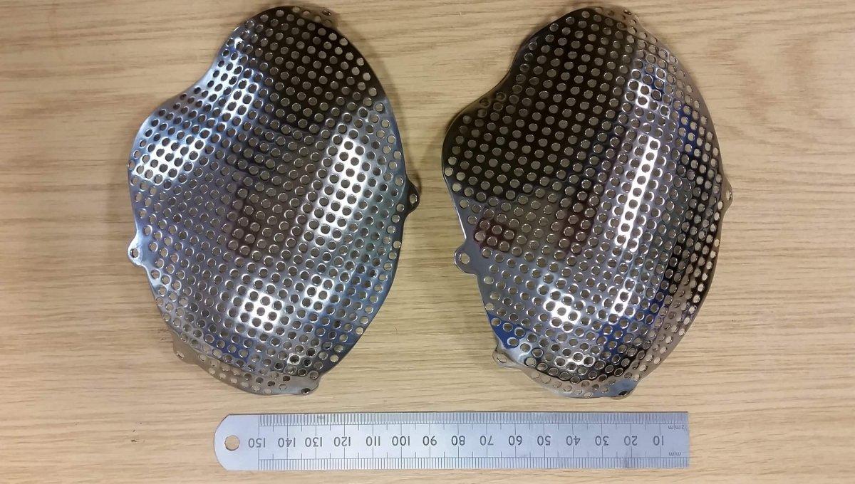 Verfahren zur Oberflächenglättung von Schädelimplantaten aus dem 3D-Drucker