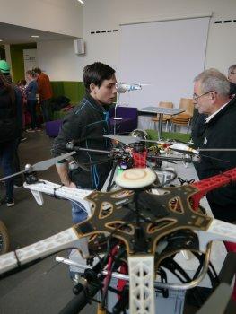 Drohnen auf 1. Make Darmstadt