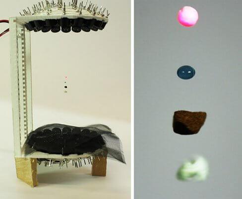 TinyLev Levitator und schwebende Teile