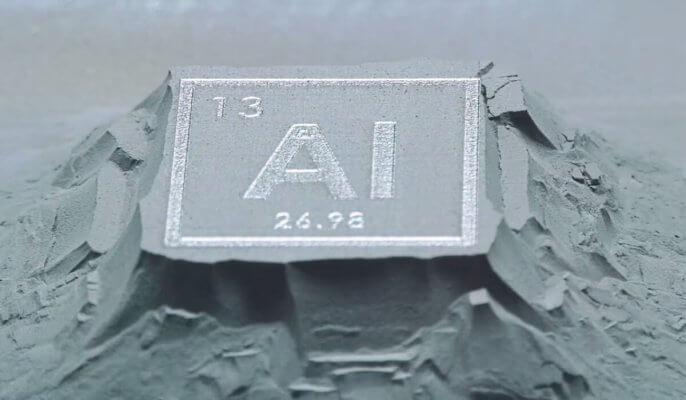 3D-Druck von Aluminium