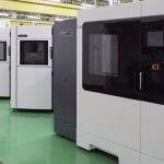 Foto der 3D-Drucker bei Ricoh