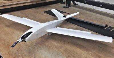 Prototyp der Scout-Drohne.