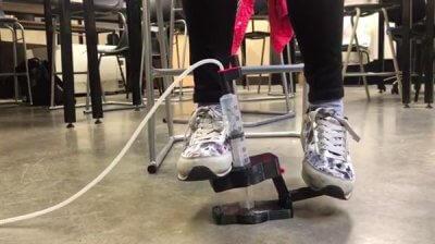 Das Med3DP Fußpedal.