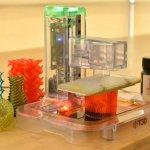 Der aufgestellte T3D-Drucker