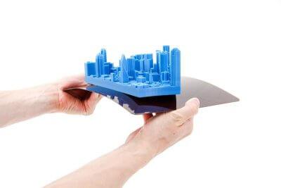 Biegsame Bauplatte für FELIX Tec 4 3D-Drucker