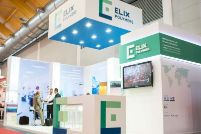 Messestand ELIX Polymers