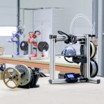 FELIX tec 4 3D-Drucker im Einsatz.