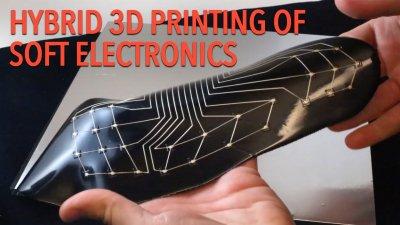 WYSS Institute entwickelte Drucksensor mit Form einer Fußsohle