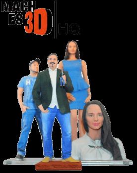 3D-gedruckte Figuren