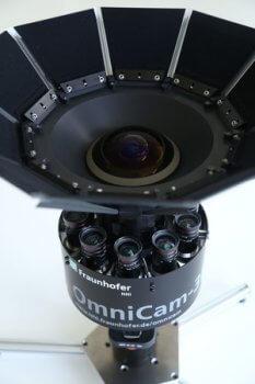 Kamera OmniCam-360 des Fraunhofer HHI