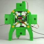 Roboter der Zauberwürfel lösen kann