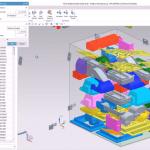 Screenshot der Siemens NX-Software