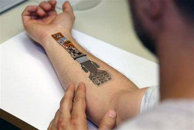 Wundversorgung mittels Nanocellulose und Elektronik.