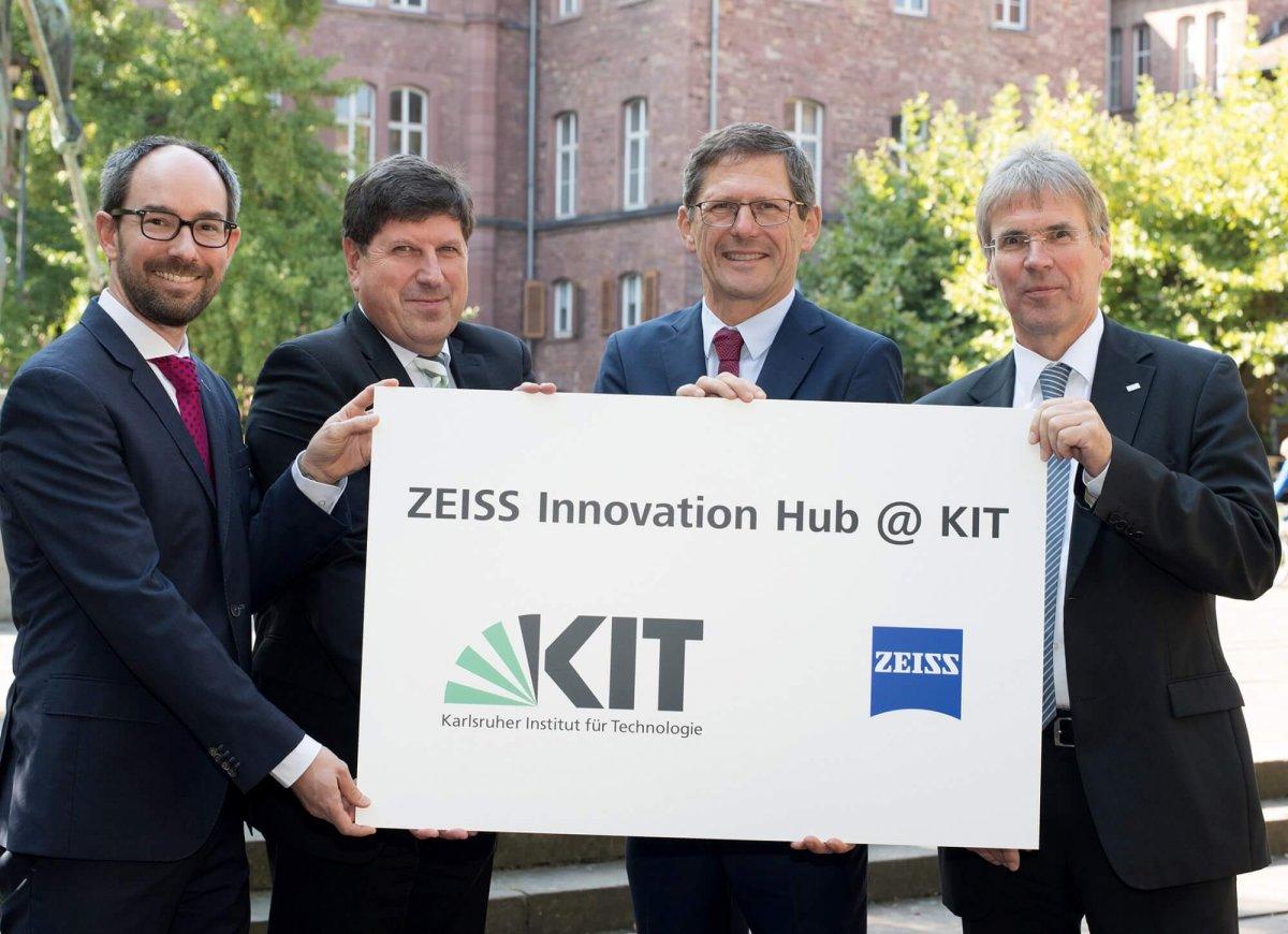 Spezialist für höchstpräzisen 3D-Druck, Nanoscribe, wird im neuen ZEISS Innovation Hub @ KIT einziehen