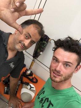 Marco Avaro und TreeD filaments Mitarbeiter