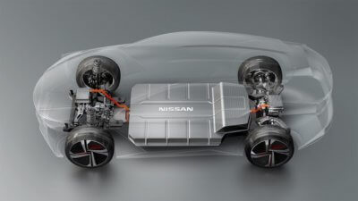 Antrieb Nissan IMx Concept