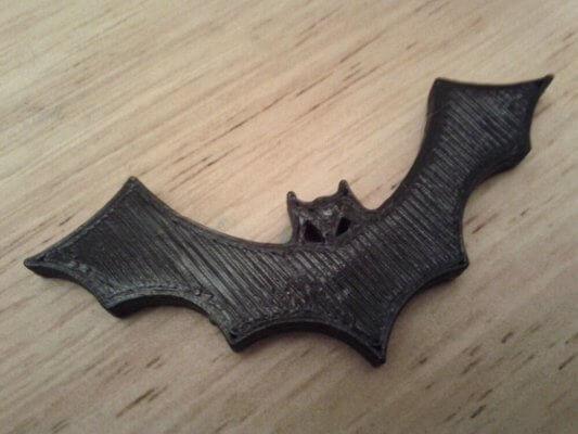 Fledermaus aus 3D-Drucker