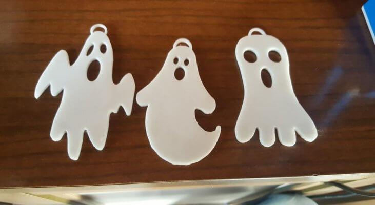 Geisteranhänger aus dem 3D-Drucker
