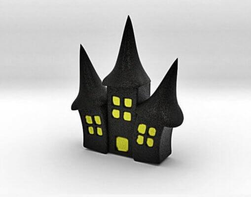 Hexenhaus aus dem 3D-Drucker