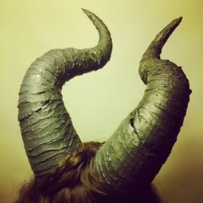 Maleficent-Hörner aus 3D-Drucker