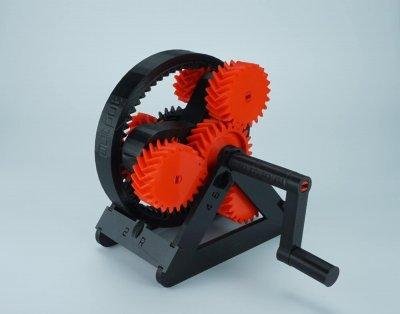 Getriebe aus dem 3D-Drucker