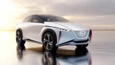 Nissan IMx Concept Fahrzeug