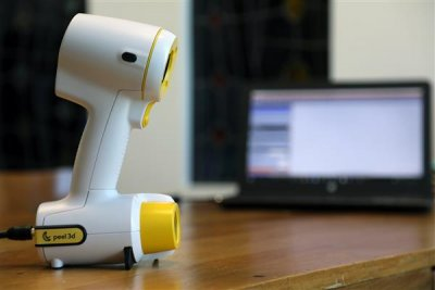 peel 3d Handscanner.