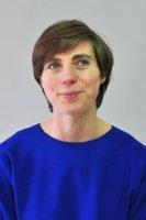 Projektleiterin Isabelle Dechamps.