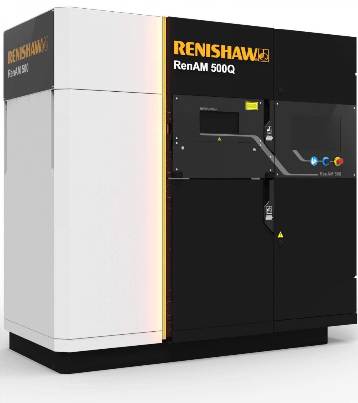 Renishaw stellt mit RenAM 500Q einen 3D-Metalldrucker mit vier Lasern vor