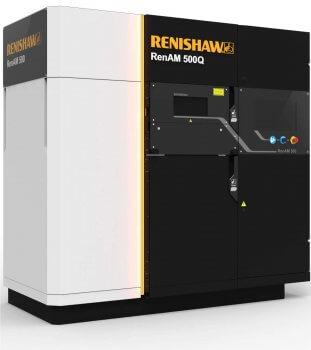 renishaw stellt mit renam 500q einen 3d metalldrucker mit vier lasern vor. Black Bedroom Furniture Sets. Home Design Ideas