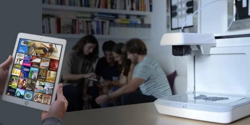 Voladd 3D-Drucker beim Streaming