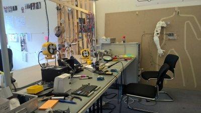 Werkstatt für Roboter