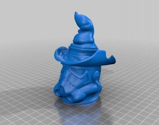 Wichtel als 3D-Modell