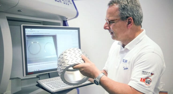 3D-Druck von SLM Solutions bei Air Liquide